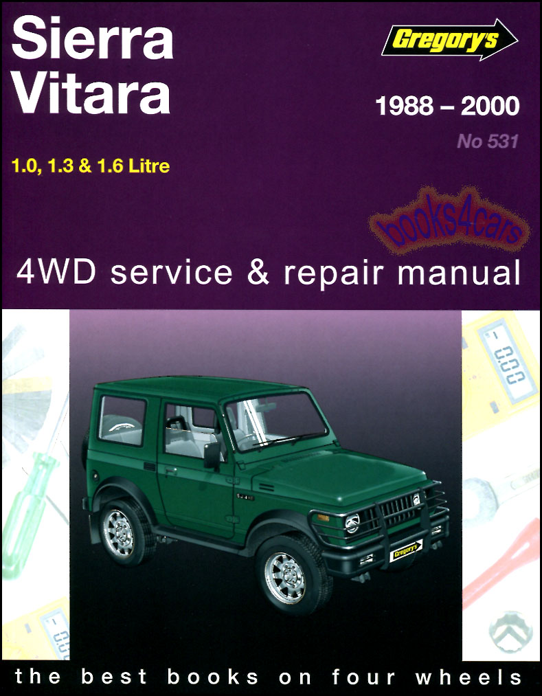 shop manual service repair book suzuki sj samurai vitara sierra rh ebay com suzuki vitara 1994 owners manual suzuki vitara 1994 repair manual