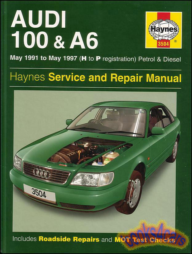 Audi A6 Shop  Service Manuals At Books4cars Com