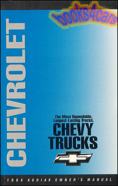 Chevrolet Kodiak Manuals At