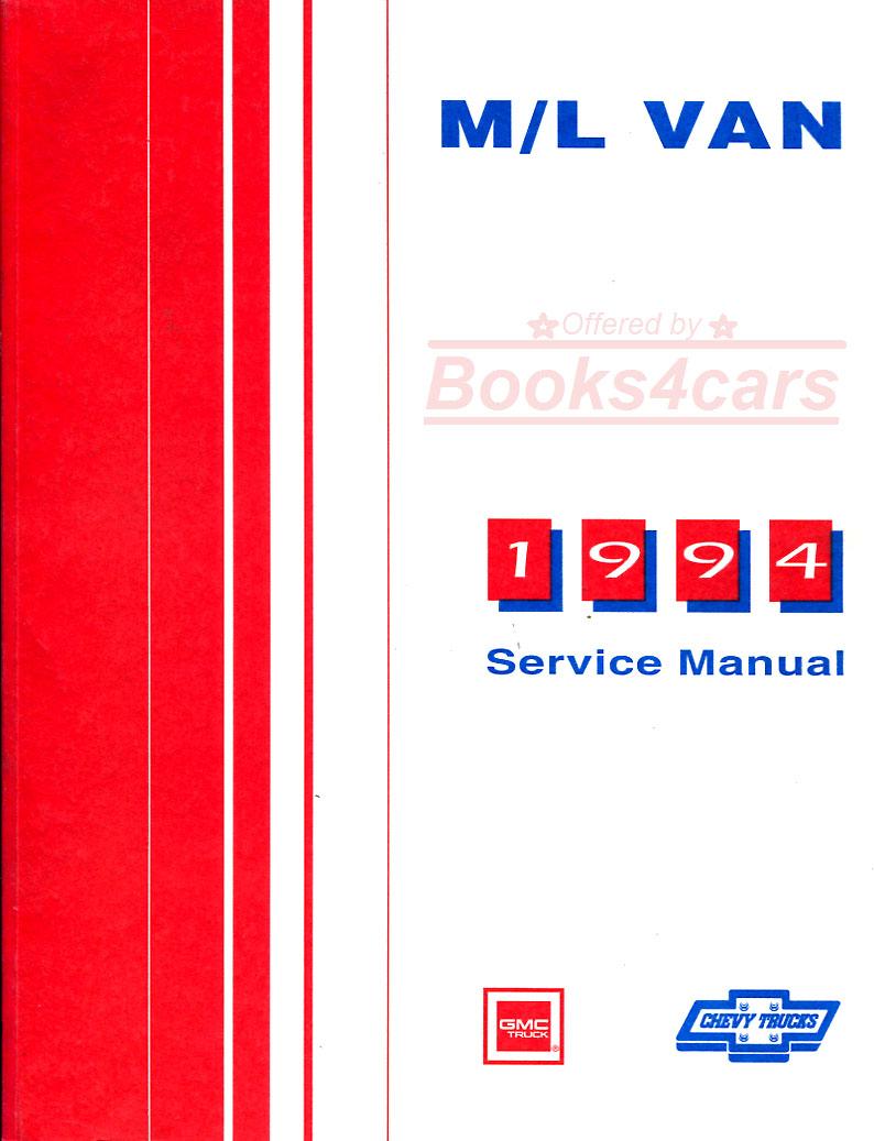 research.unir.net Motors Service & Repair Manuals 1991 Chevy Astro ...