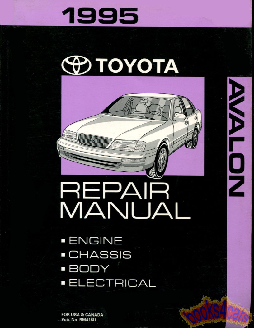 toyota avalon manuals at books4cars com rh books4cars com 1996 Toyota Avalon Specs 2006 Toyota Avalon Fuse Box Diagram