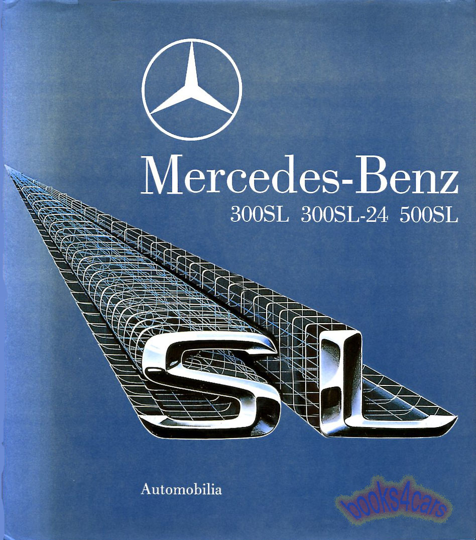Mercedes book sl alfieri 129 r129 500sl 300sl 600sl for Books mercedes benz