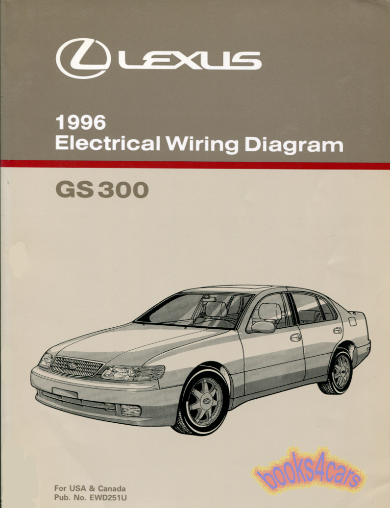 lexus gs300 shop service manuals at books4cars com rh books4cars com Lexus IS300 Parts Catalog Lexus IS300 Turbo