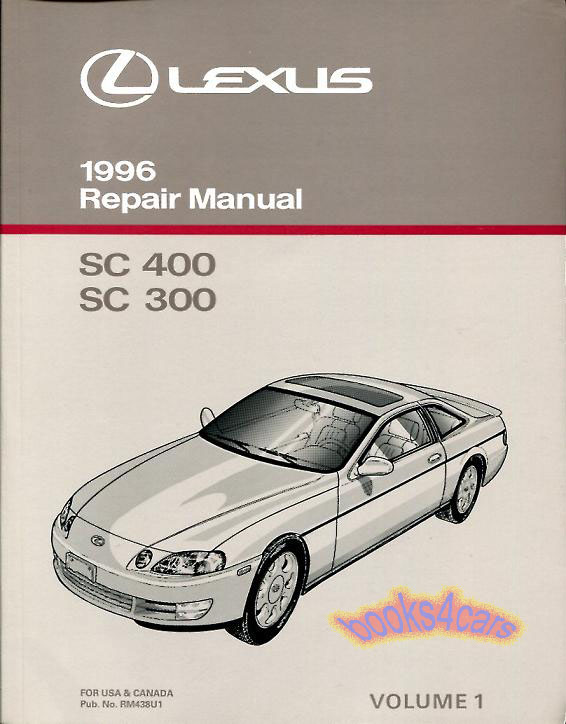 lexus sc400 manuals at books4cars com rh books4cars com 1993 lexus sc400 owners manual pdf 1992 lexus sc400 repair manual