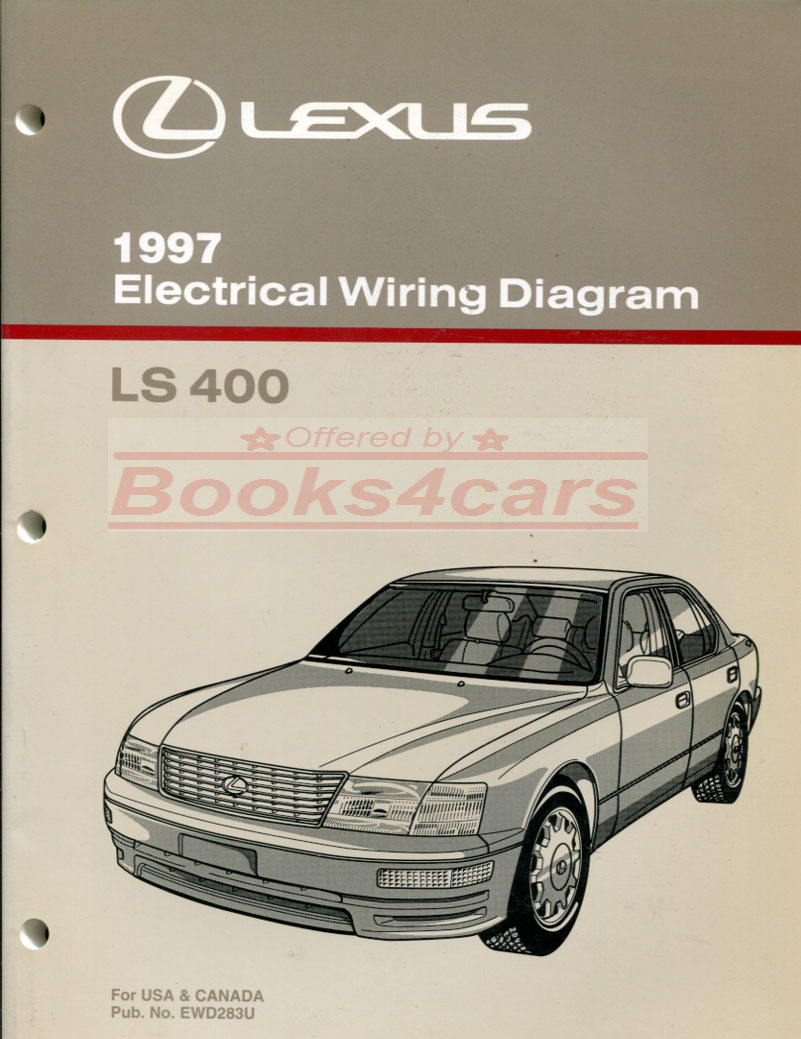 97 LS400 Electrical Wiring Diagram Manual by Lexus (97_EWD283U) ...