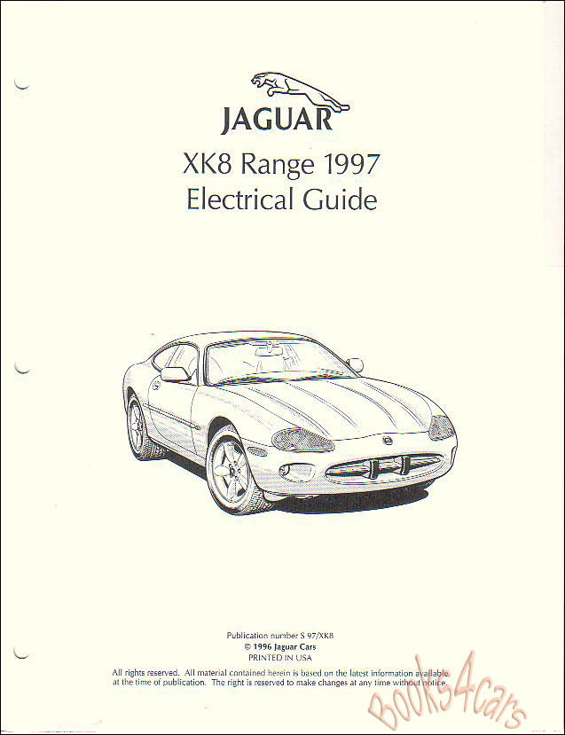 Jaguar Xk8 Service Manual Pdf