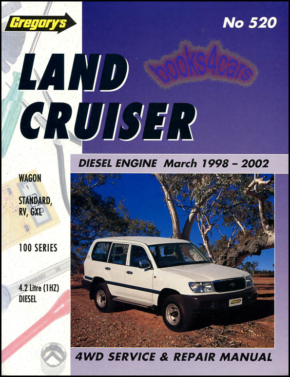 toyota shop service manuals at books4cars com rh books4cars com 1980 Toyota Land Cruiser 1995 Toyota Land Cruiser