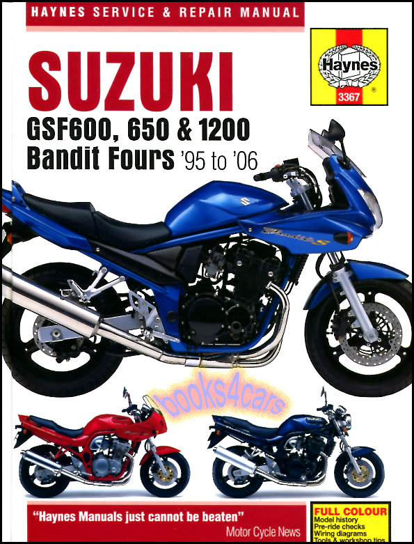 98_3367 suzuki manuals at books4cars com GSF 1200 Case at gsmx.co