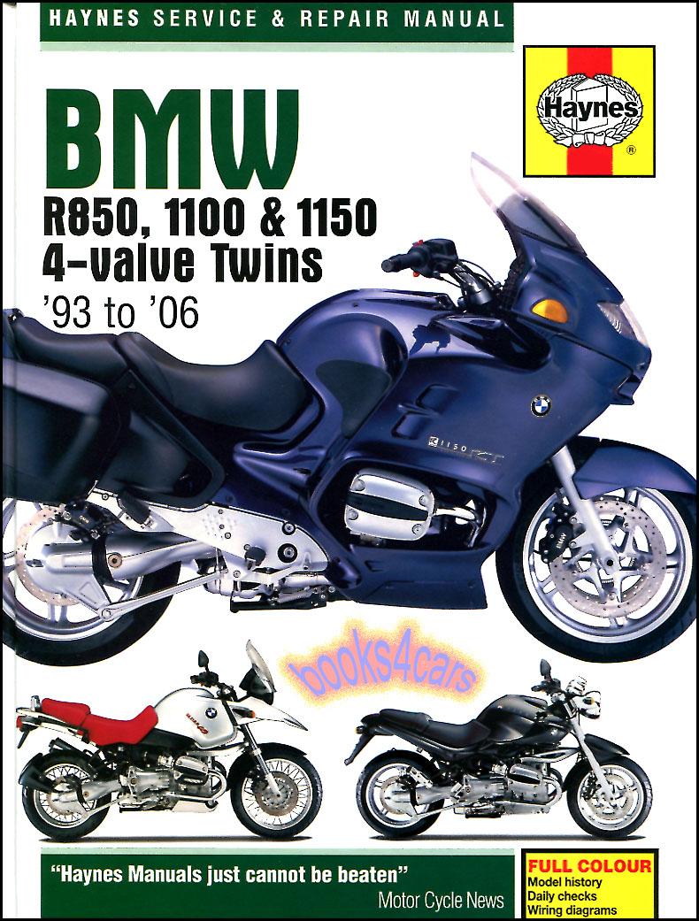 bmw shop manual service repair book haynes r850 1100 1500. Black Bedroom Furniture Sets. Home Design Ideas