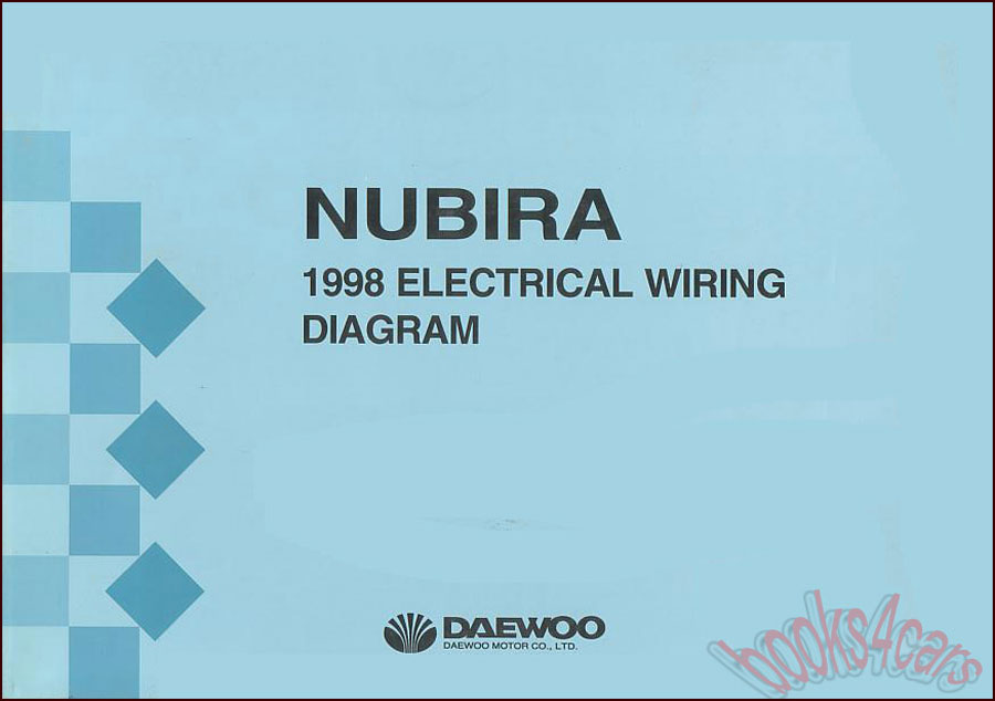 1998 nubira electrical wiring manual by daewoo 98 nu4ewd1e8c50