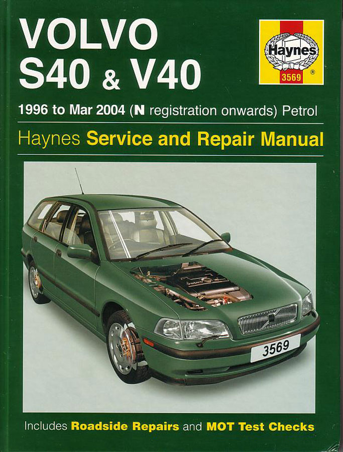 volvo s40 v40 shop manual service repair workshop book haynes rh ebay com