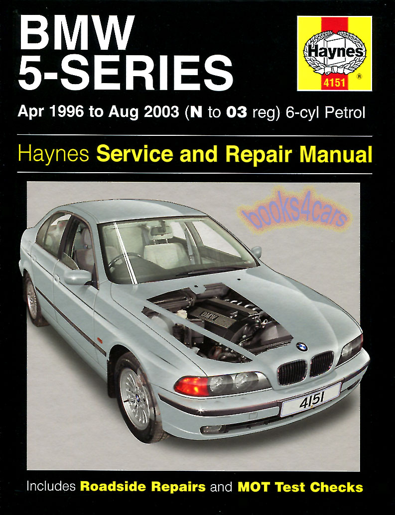 Bmw shop manual service repair haynes book 5 series 525i 530i 528i chilton guide