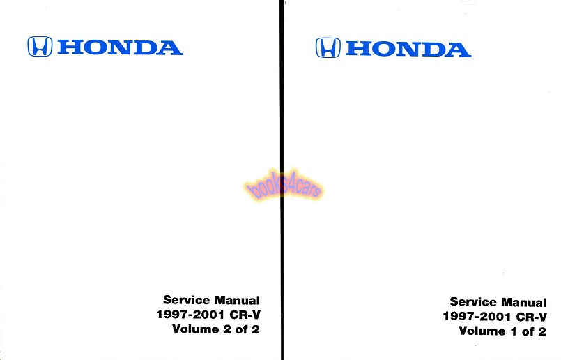 Honda Crv Manuals At Books4cars Com Rh Books4cars Com 1988 Honda Accord Repair  Manual 2001 Honda Crv Thermostat Location