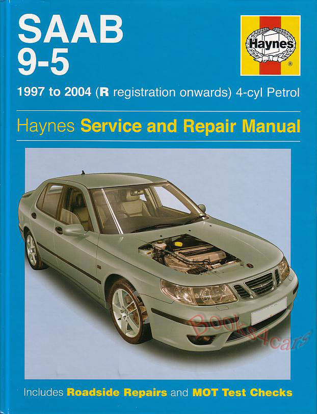 Shop manual saab 9 5 service repair book haynes workshop chilton ebay real book covering all 1997 2004 saab 9 5 shop service repair manual including 20 23 4 cylinder engines hardcover over 300 pages in new never opened fandeluxe Gallery