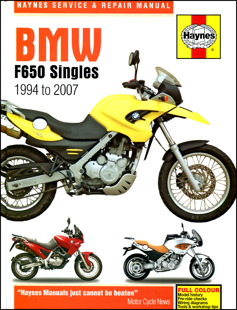 Bmw f650gs f800s f800st service workshop manual 2004 2017 dakar.