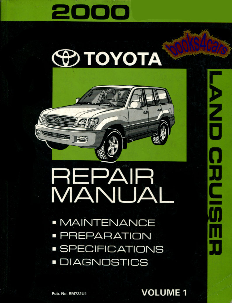 Toyota Manuals At Books4cars Com