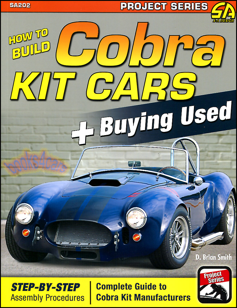 how to build cobra kit cars shelby assembly manual buying used guide book ebay. Black Bedroom Furniture Sets. Home Design Ideas
