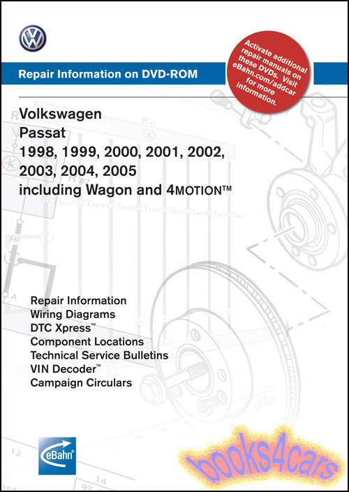vw passat shop manual service repair book robert bentley dvd disc w8 rh ebay com 2000 passat owners manual pdf 2000 passat owners manual