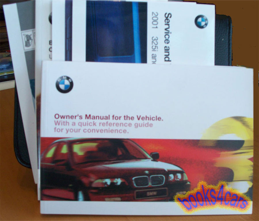 2001 bmw 330i owners manual