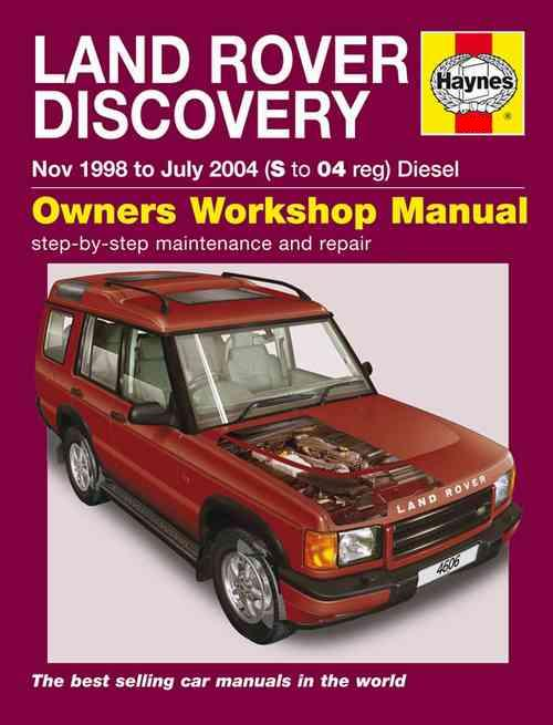 B on Haynes Land Rover Discovery Manual