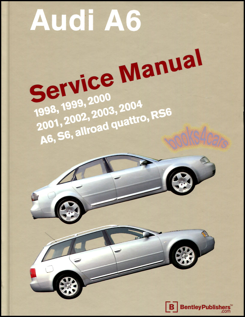 Audi repair manual a6 (c5) bentley a604 fast shipping available.