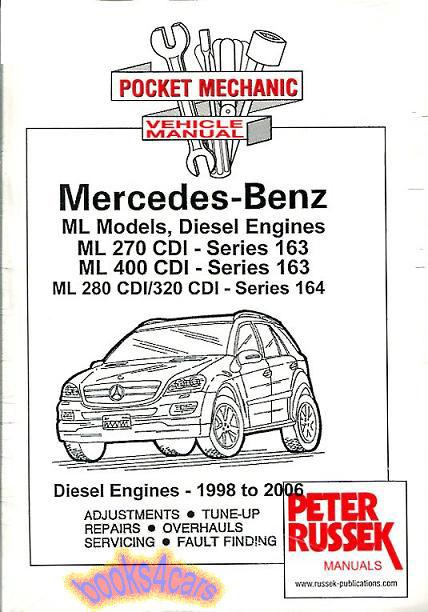 mercedes manuals at books4cars com rh books4cars com 2002 Mercedes-Benz ML320 SUV 2002 Mercedes-Benz ML320 Interior
