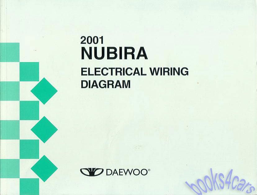 daewoo nubira manuals at books4cars com 2002 mazda protege wiring diagram 2001 nubira electrical manual by daewoo (b01_nub_ele)
