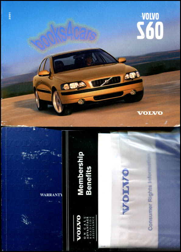 S80 OWNERS MANUAL 2001 VOLVO BOOK HANDBOOK S 80 S-80