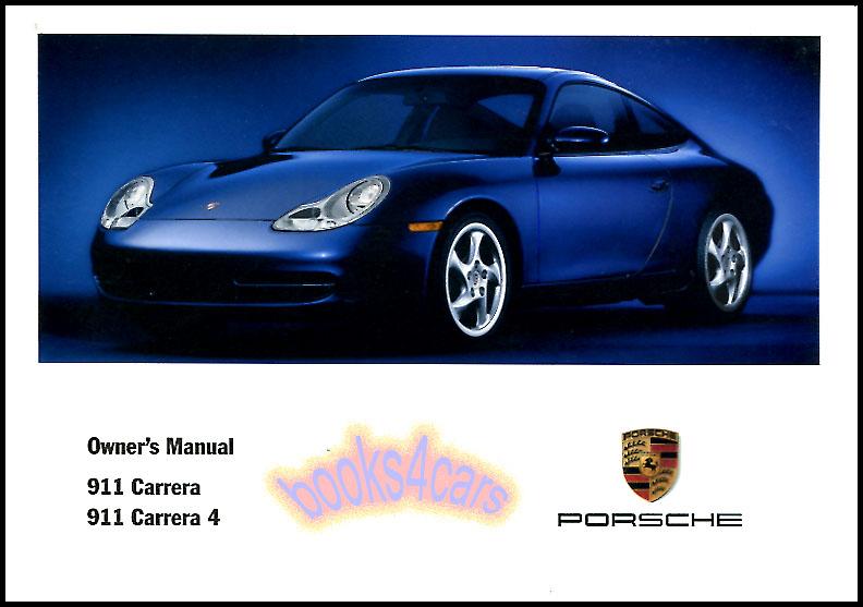 porsche 911 manuals at books4cars com rh books4cars com porsche 911 owners manual 2006 Porsche 911 Turbo