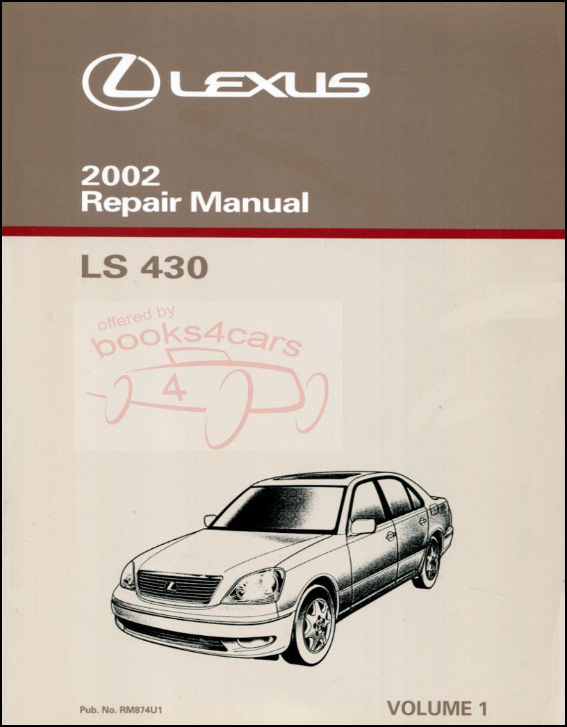 Lexus Ls430 Manuals At Books4cars Com