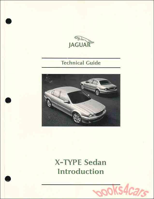 Jaguar x-type xtype x type workshop repair service manual 2001.
