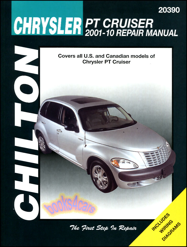 REAL BOOK bumper-tobumper Shop Service Repair Manual by Chilton for PT  Cruiser covering all the years of the PT Crusier 2001-2010 in New,  never-opened ...