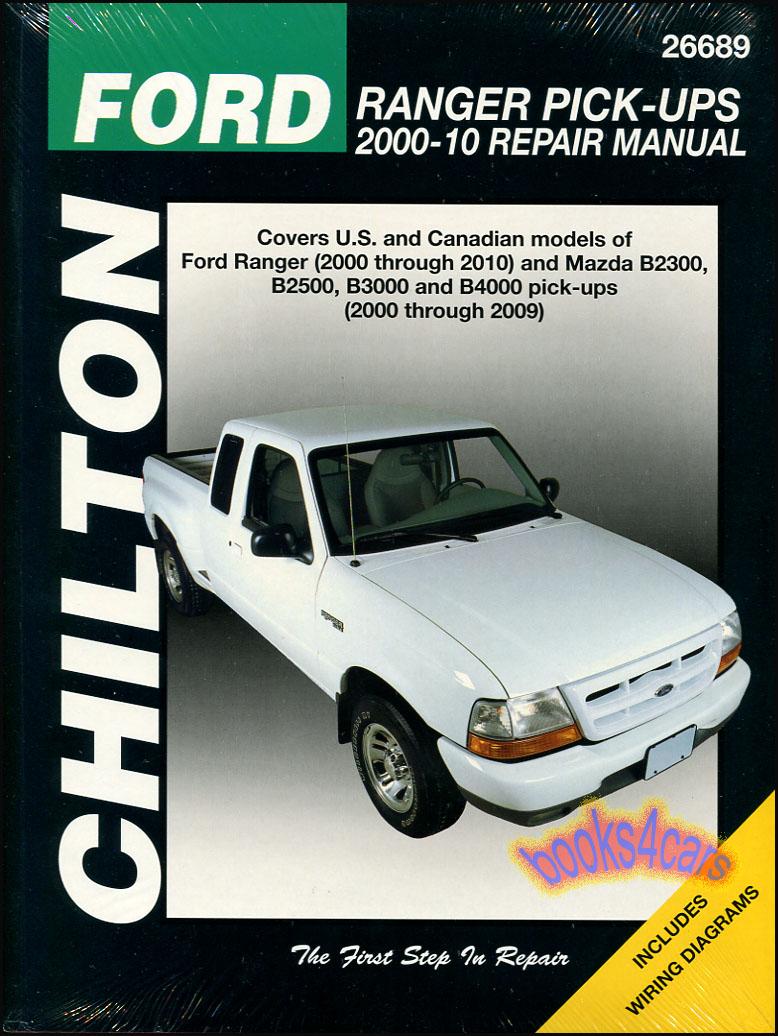 shop manual ranger service repair ford book mazda pickup. Black Bedroom Furniture Sets. Home Design Ideas