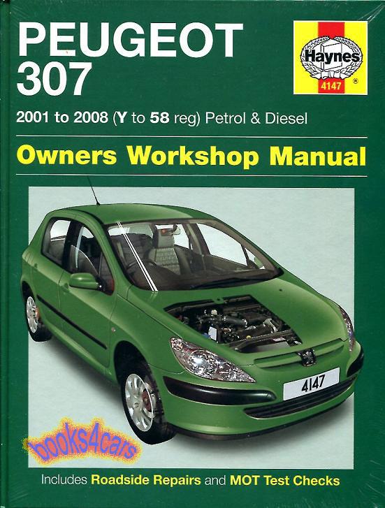 shop manual 307 service repair peugeot haynes book ebay