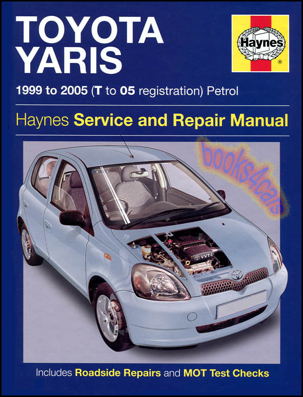 toyota echo shop manual service repair book haynes 2000 2005 2004 rh ebay com echo service manual echo service manual