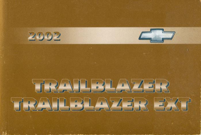 Chevrolet Trailblazer Manuals At Books4cars