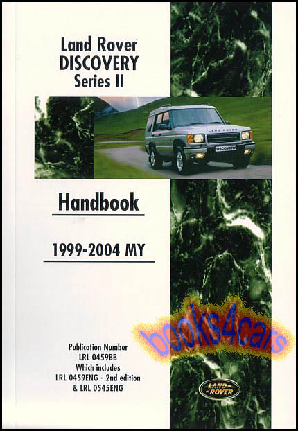 land rover discovery manuals at books4cars com rh books4cars com Service Manuals Operators Manual