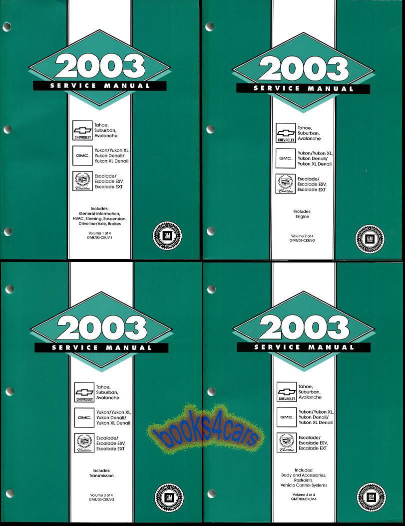 cadillac manuals at books4cars com 2005 Escalade 2005 Escalade