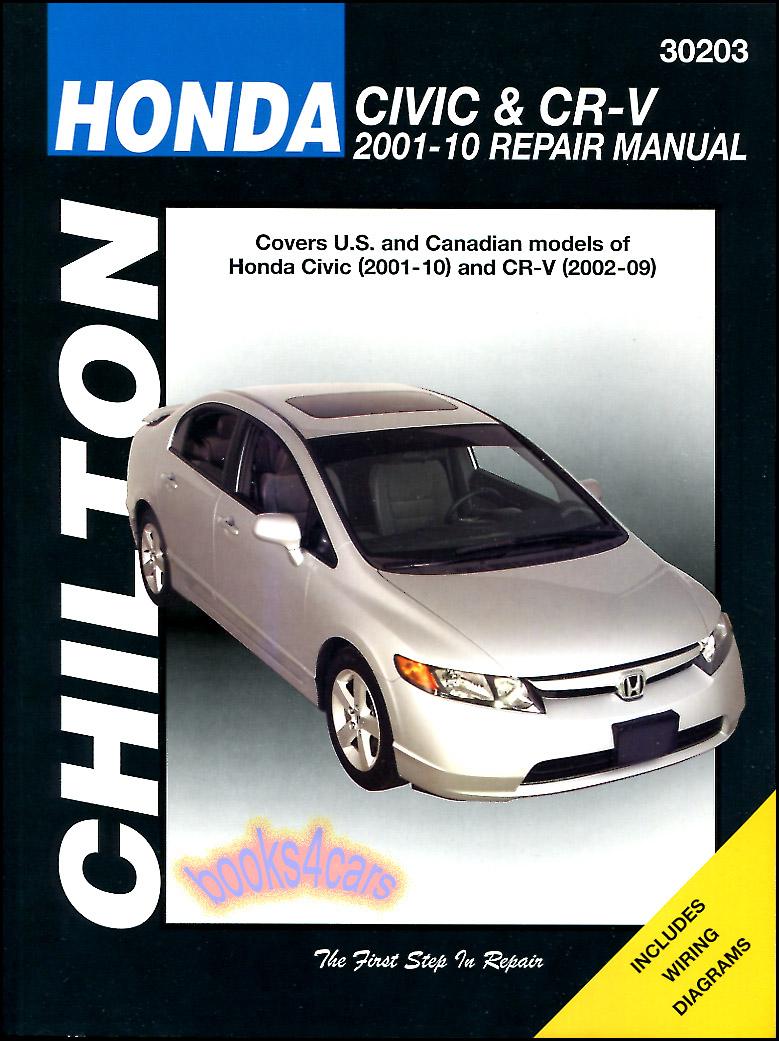 honda civic hybrid service manual