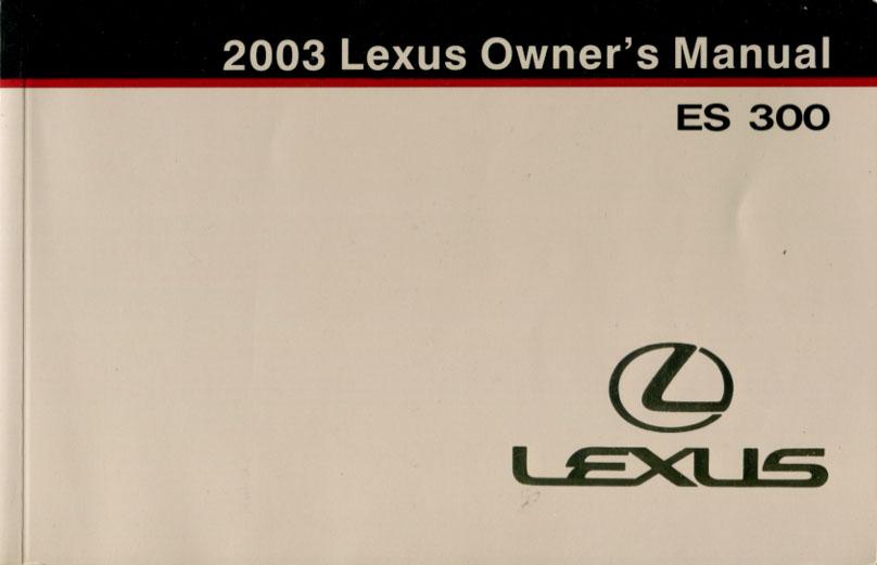 lexus es 330 service manual