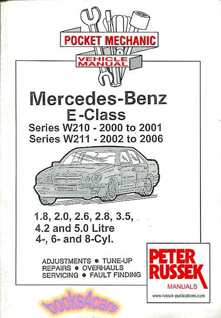 Shop manual mercedes service repair book e class w210 w211 2000 mercedes benz fandeluxe Image collections