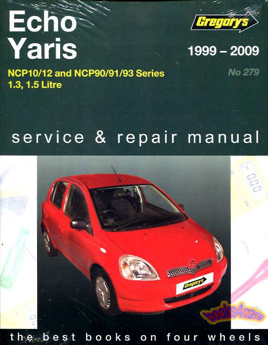shop manual echo yaris service repair book toyota haynes chilton 1 5 rh ebay com 1999 toyota corolla service manual pdf 1999 toyota corolla service manual free download