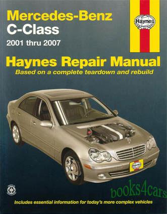 2006 mercedes benz c class c280 4matic owners manual