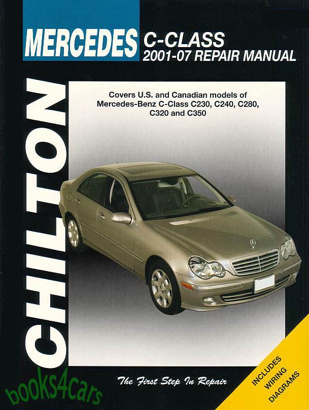 shop manual mercedes service repair book chilton c class haynes ebay. Black Bedroom Furniture Sets. Home Design Ideas