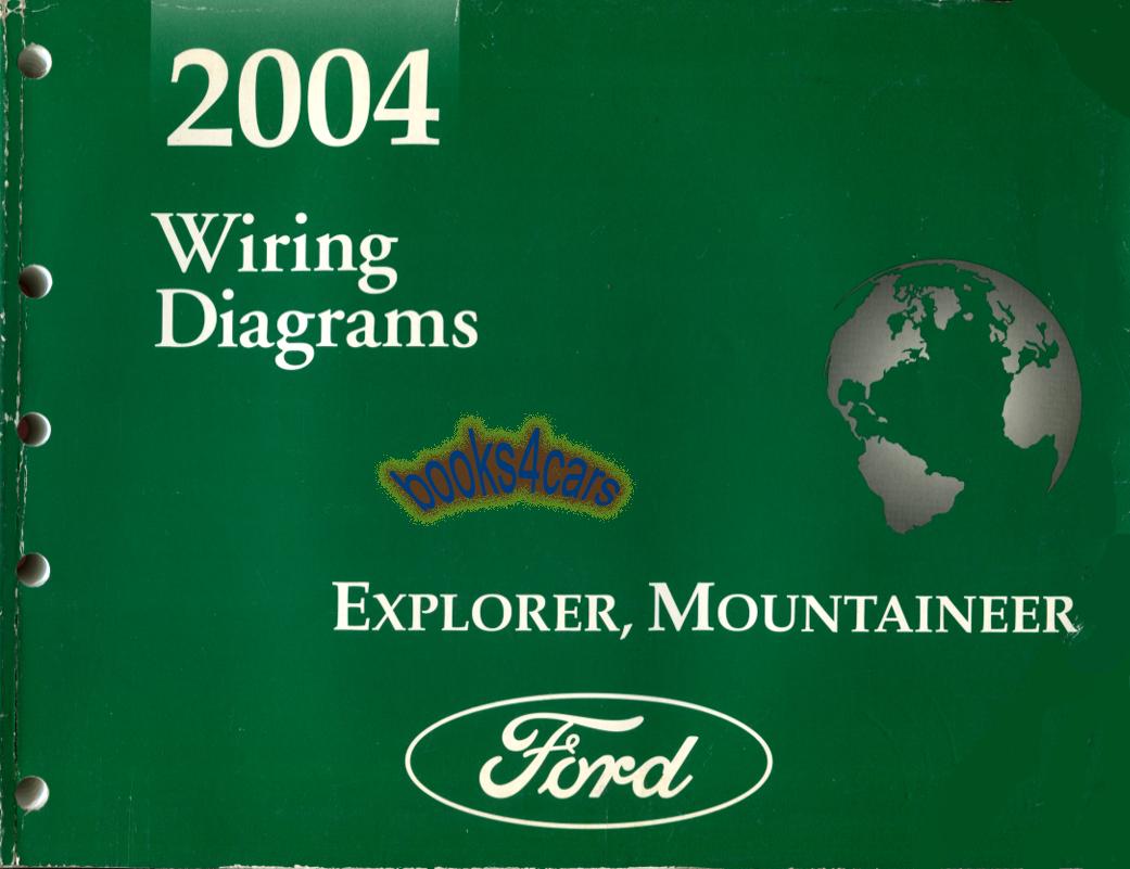 Diagram  2004 Ford Explorer Mountaineer Service Shop Set