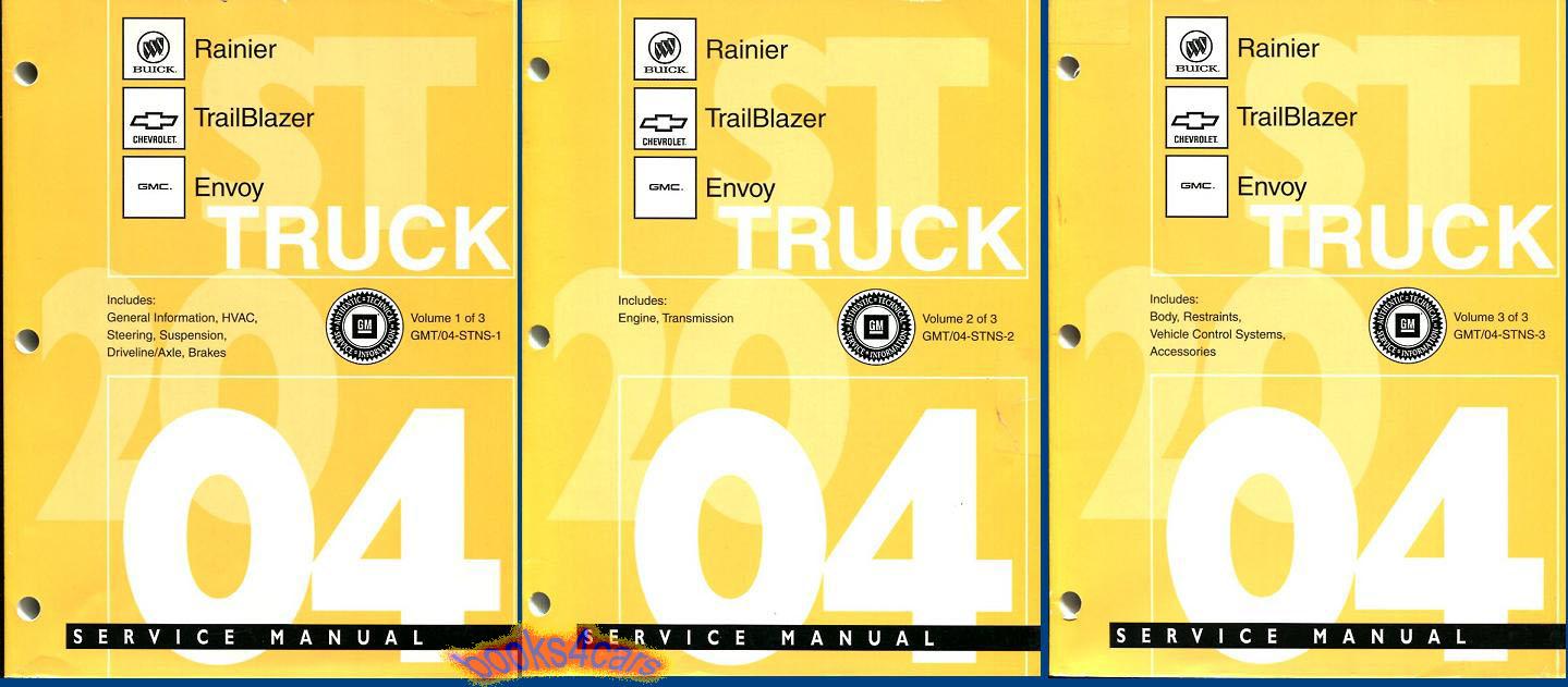 Chevrolet Trailblazer Shop Service Manuals At Books4cars Com border=