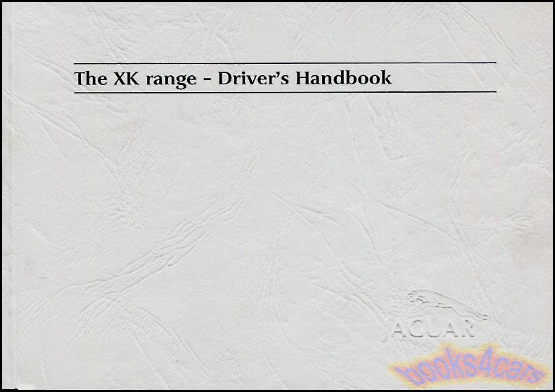 Jaguar Xk8 Manuals At Books4cars Com