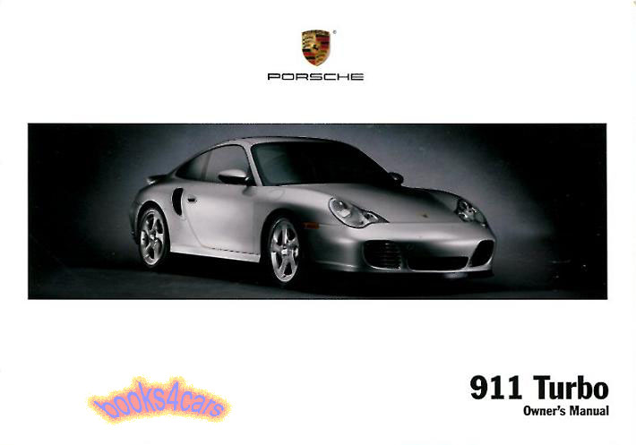 2004 porsche 911 turbo owners manual handbook guide book 996 porshe rh ebay com Porsche 996 Turbo X50 porsche 911 carrera (996) service manual