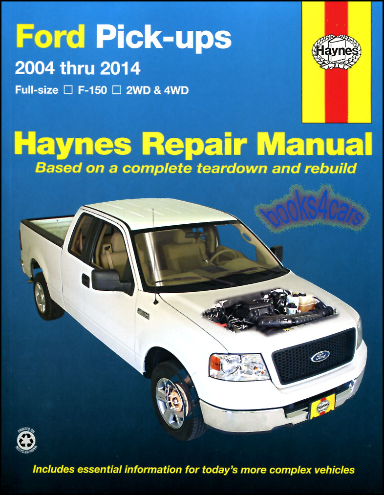 shop manual f150 service repair ford haynes book pickup truck f 150 rh ebay com 2014 F-150 Manual Transmission 2009 Ford F-150 Manual