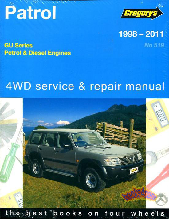 nissan patrol shop manual service repair book gu gregory haynes ebay rh ebay com Helm Auto Manuals Auto Manual Switch